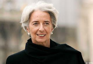 Professional Chic with Stoles – Christine Lagarde