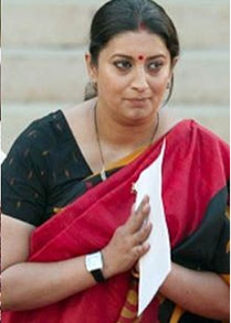 Image Transformation of Smriti Irani – Minister HRD